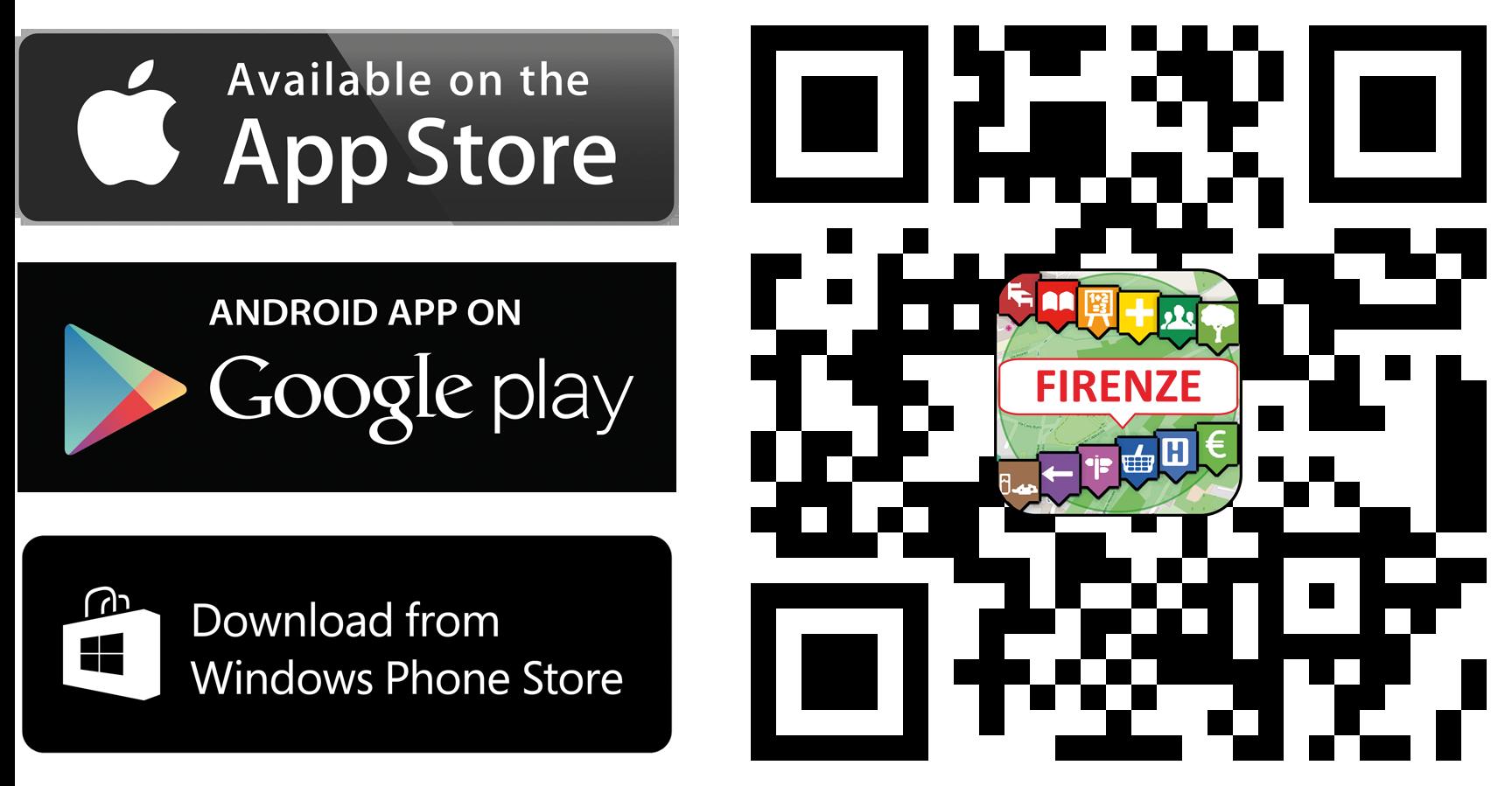 QRCode app store FIRENZE